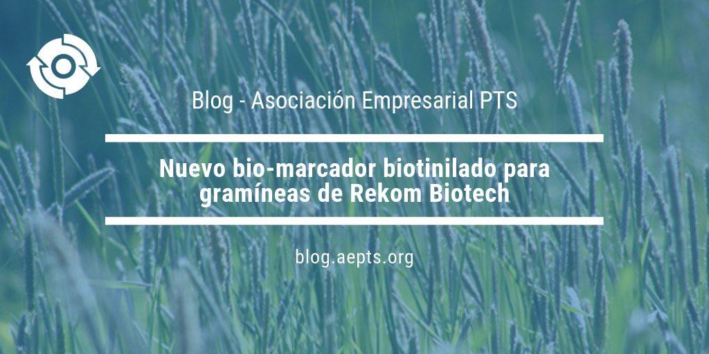 Nuevo bio-marcador para gramíneas de Rekom Biotech