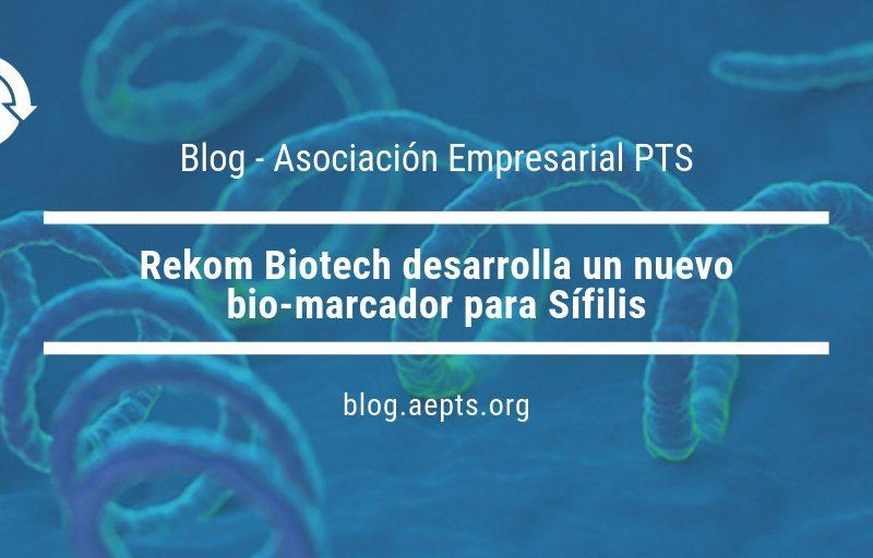 Noticia Rekom Biotech. Nuevo bio-marcador para sífilis.